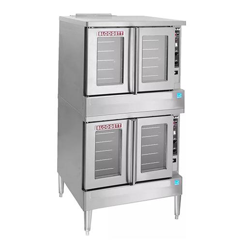 Blodgett SHO-100-E-DBL Double Standard Depth Full Size Electric Convection Oven - 1Ph, 208V