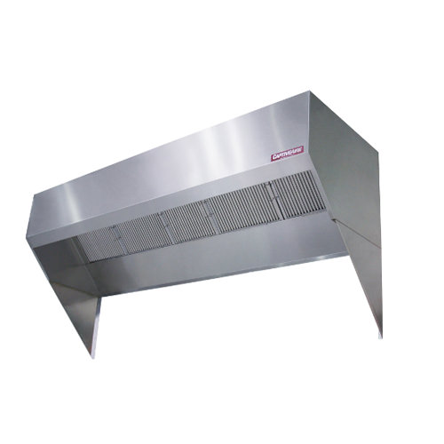Restaurant Kitchen Ventilation System: CaptiveAire BD2 Low Proximity Exhaust Hood
