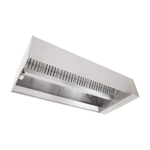CaptiveAire ND-2WI Single Island Exhaust Hood