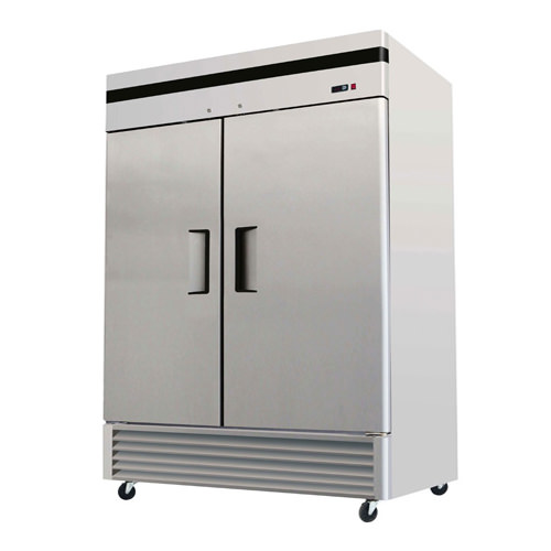 Efi C2 54vc 54 Two Door Solid Reach In Refrigerator Vortex Restaurant Equipment