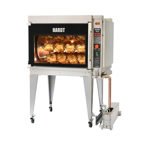 Hardt Inferno-GC 40 Bird Commercial Natural Gas Chicken Rotisserie Oven