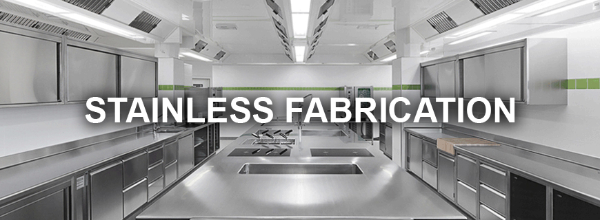 Commercial Kitchen Stainless Steel Fabrication Vancouver & Canada