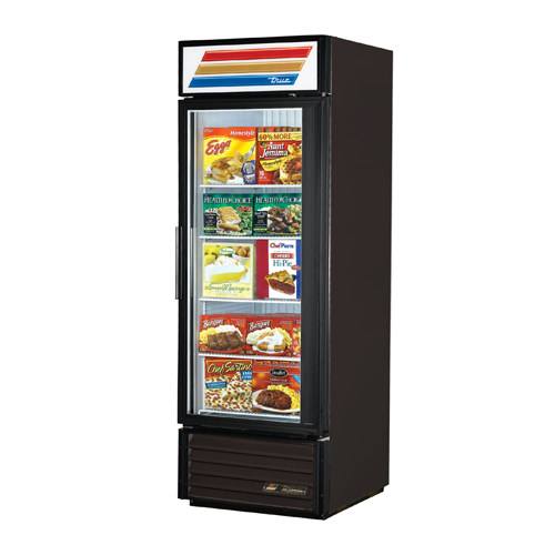 True GDM-23F-LD 1 Door Glass Freezer Merchandiser