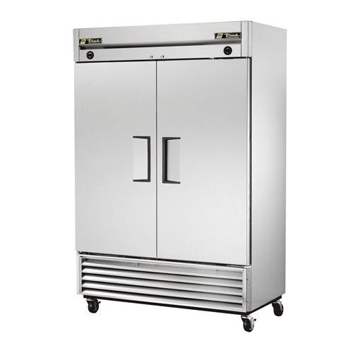 True T-49 55″ Two Door Solid Reach In Refrigerator