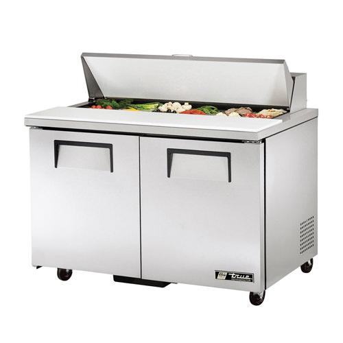 True Tssu 48 12 48 Quot 2 Door Sandwich Prep Refrigerator