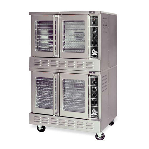 American Range MSDE-2 Double Standard Depth Full Size Electric Convection Oven - 1P, 208V