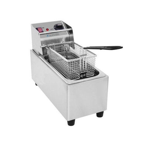 Eurodib SFE01860-120 16 Lb Single Pot Countertop Electric Fryer