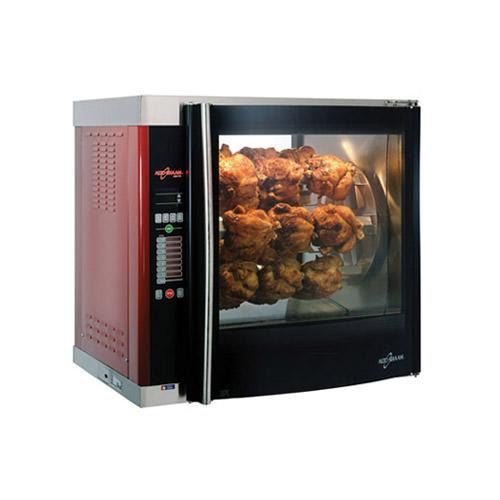 Alto-Shaam AR-7E-SGLPANE 28 Bird Electric Countertop Chicken Rotisserie Oven