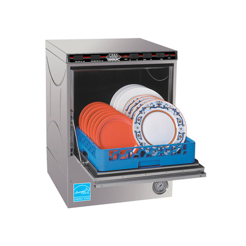CMA 180UC High Temperature 30 Racks / Hour Undercounter Dishwasher