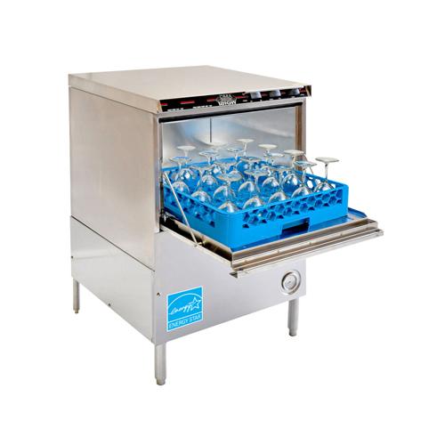 CMA 181GW High Temperature 30 Racks / Hour Undercounter Glasswasher