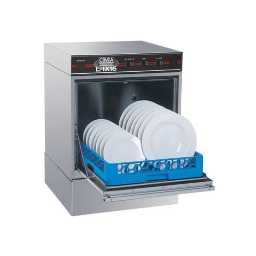 CMA L-1X Low Temperature 30 Racks / Hour Undercounter Dishwasher