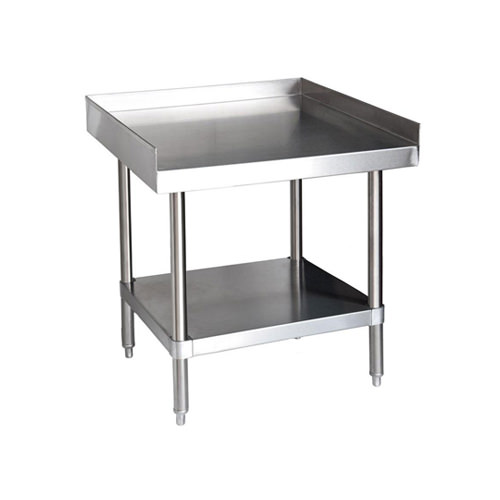 EFI TES X Gauge Stainless Steel Equipment Stand - Stainless steel table 18 x 24