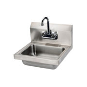 """Thorinox THS-1-F 17"""" x 16"""" Wall Mounted Hand Sink With Faucet"""