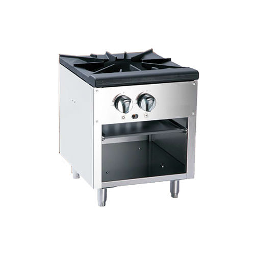 Industrial Kitchen Equipment Rental: EFI RCTSP-18-1 Single Burner Stock Pot Range