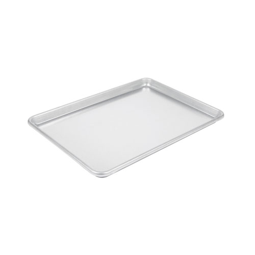 "Winco ALXP-1826 18"" x 26"" 18 Gauge Full Size Closed Bead Aluminum Sheet Pan"