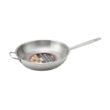 "Winco SSFP-12 12"" Premium Stainless Steel Fry Pan"