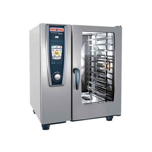 Rational Selfcookingcenter B118206 27e 101ng 10 Pan Half Size Natural Gas Combi Oven Vortex Restaurant Equipment
