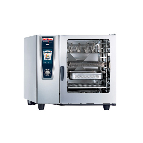Rational Selfcookingcenter B128206 19e 102ng 10 Pan Full Size Natural Gas Combi Oven Vortex Restaurant Equipment