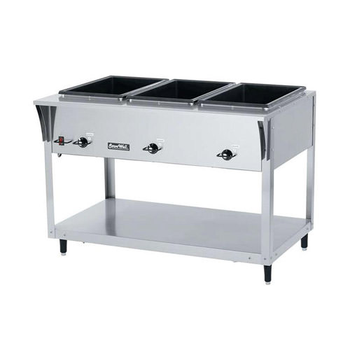 Vollrath 38217 3 Pan Electric Hot Food Table - 208 Volts