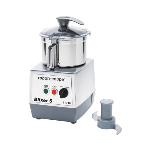 Robot Coupe BLIXER-5 Food Processor With 5.5 QT Stainless Steel Bowl
