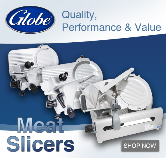 Shop Globe Commercial Meat Slicers Vortex Restaurant Equipment Vancouver