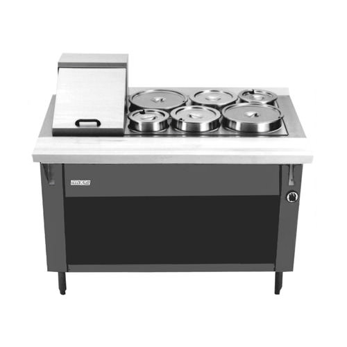 MKE HFTAW Pan Volts Electric Hot Food Table Vortex - Electric hot food table