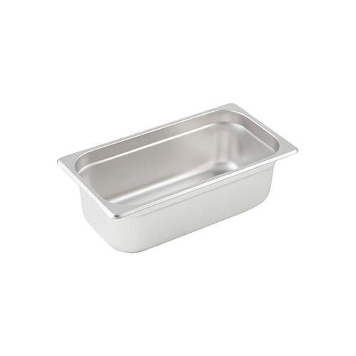 Winco SPJH-404 1/4 Size Heavy Weight Steam Table / Hotel Pan - 4