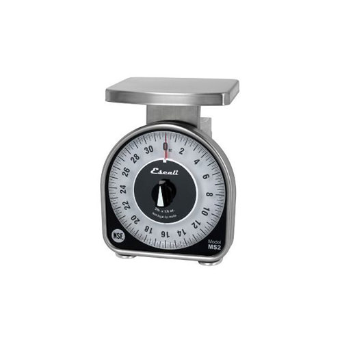 San Jamar SCMDL25 25 Lb Mechanical Dial Scale