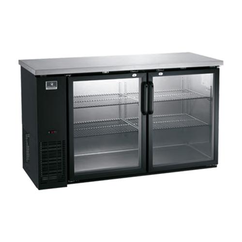 Kelvinator Kcbb60gb 60 2 Door Glass Back Bar Refrigerator Vortex