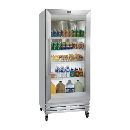 """Kelvinator KCGM180RQY 32"""" One Door Glass Refrigerator Merchandiser"""