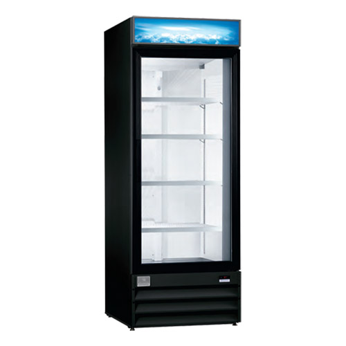 """Kelvinator KCGM24R 28"""" One Door Glass Refrigerator Merchandiser"""