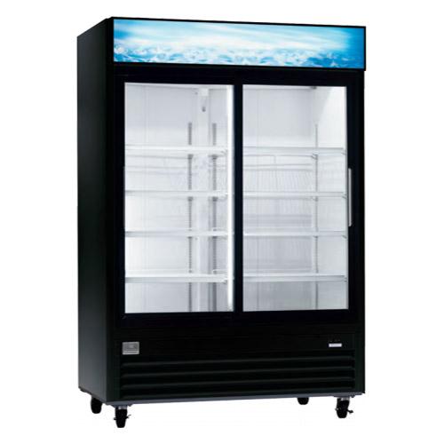 Kelvinator KCGM47RB 54'' Two Door Sliding Glass Refrigerator Merchandiser