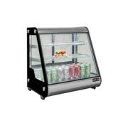 New Air NDC-013-CD 28″ Straight Glass Countertop Display Refrigerator
