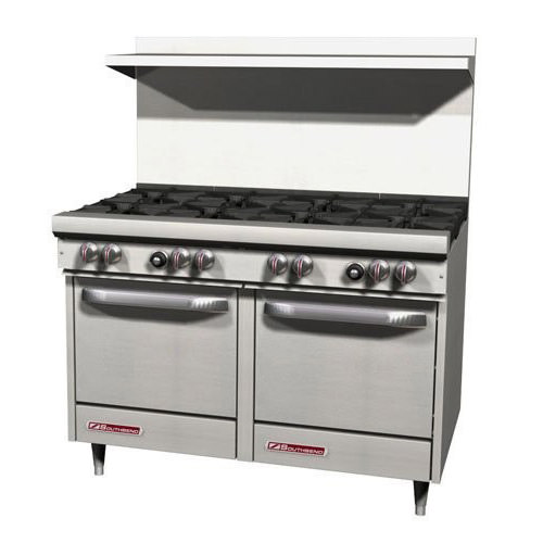 Southbend S48EE 2G 48 Gas Range With 24 Griddle