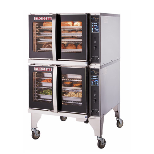 Blodgett HVH-100G-DBL Double Full Size Natural Gas Hydrovection Oven