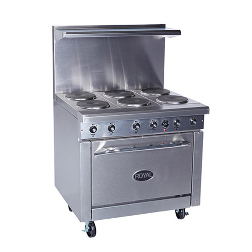 36 Electric Range >> Royal Rre Gt36 36 Electric Range With 36 Griddle