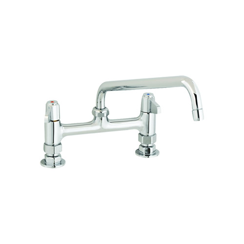 T&S 5F-8DLX10 Deck Mount Faucet With 8