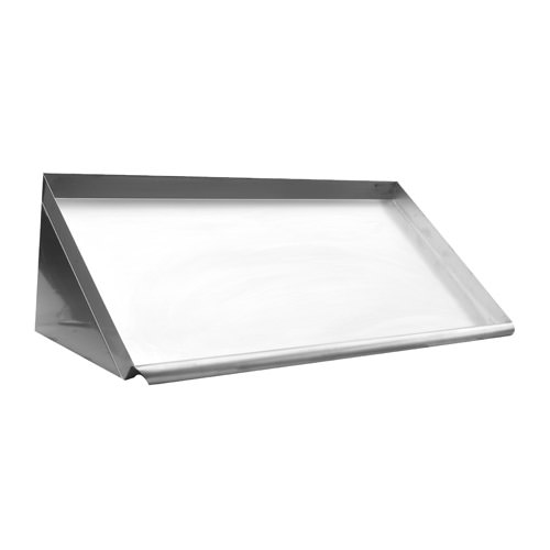 Efi Sewdr 42 42 Quot 18 Gauge Stainless Steel Slanted Wall