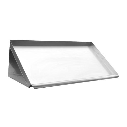 Efi Sewdr 63 63 18 Gauge Stainless Steel Slanted Wall Mount Dish