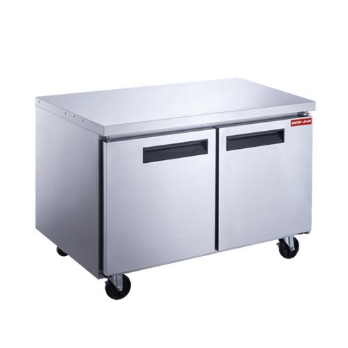 New Air NUF-048-SS 48″ 2 Door Undercounter Freezer