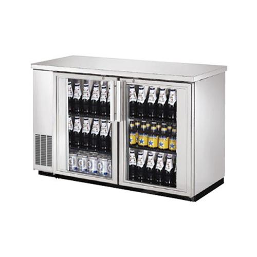 Efi Cbbsgd2 48cc 48 2 Door Glass Stainless Back Bar Refrigerator