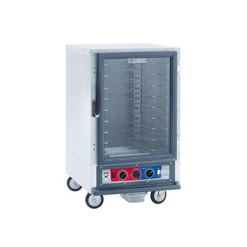 Metro C515-HFC-U C5 1 Series 8 Pan Non-Insulated Hot Holding Cabinet