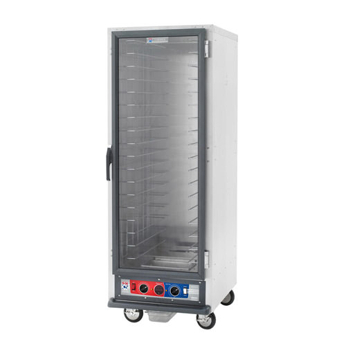 Metro C519-HFC-U C5 1 Series 18 Pan Non-Insulated Hot Holding Cabinet