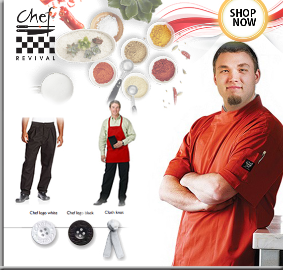 Shop Chef Revival Chef Uniforms & Chef Clothing, Restaurant Apparels in Vancouver