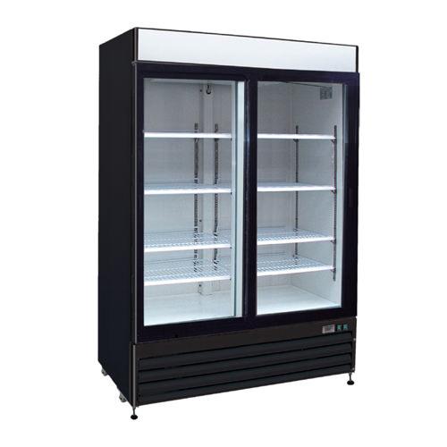 EFI C2-54GDVC Two Swing Door Glass Refrigerator Merchandiser