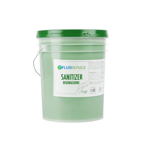 Fluid CHLORINATED-20 20L Low Temp Warewashing Sanitizer
