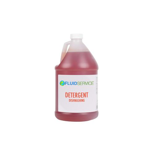 Fluid RUBY-4 4L Low Temp Warewashing Detergent - 4 / Case