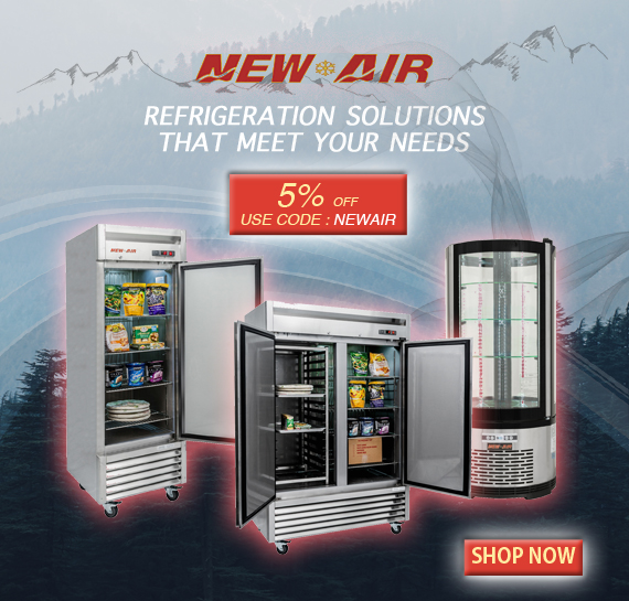 Shop New Air Commercial Refrigeration 7 Restaurant Refrigeration in Vancouver