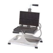 """Krampouz WECCIEAT 4"""" x 13"""" Liege-Style Swivel Belgian Waffle Maker"""