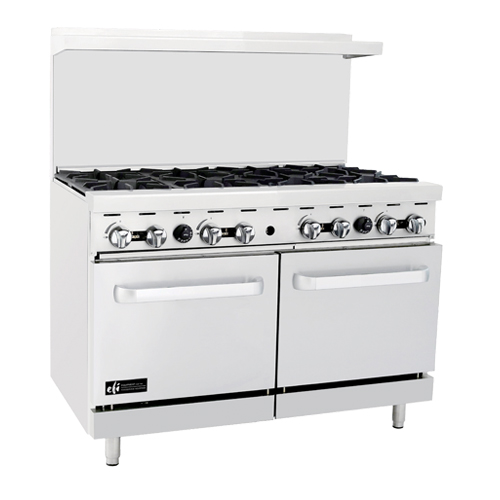 EFI RCTRS-24G-4B-N 48″ Natural Gas Range With 24″ Griddle